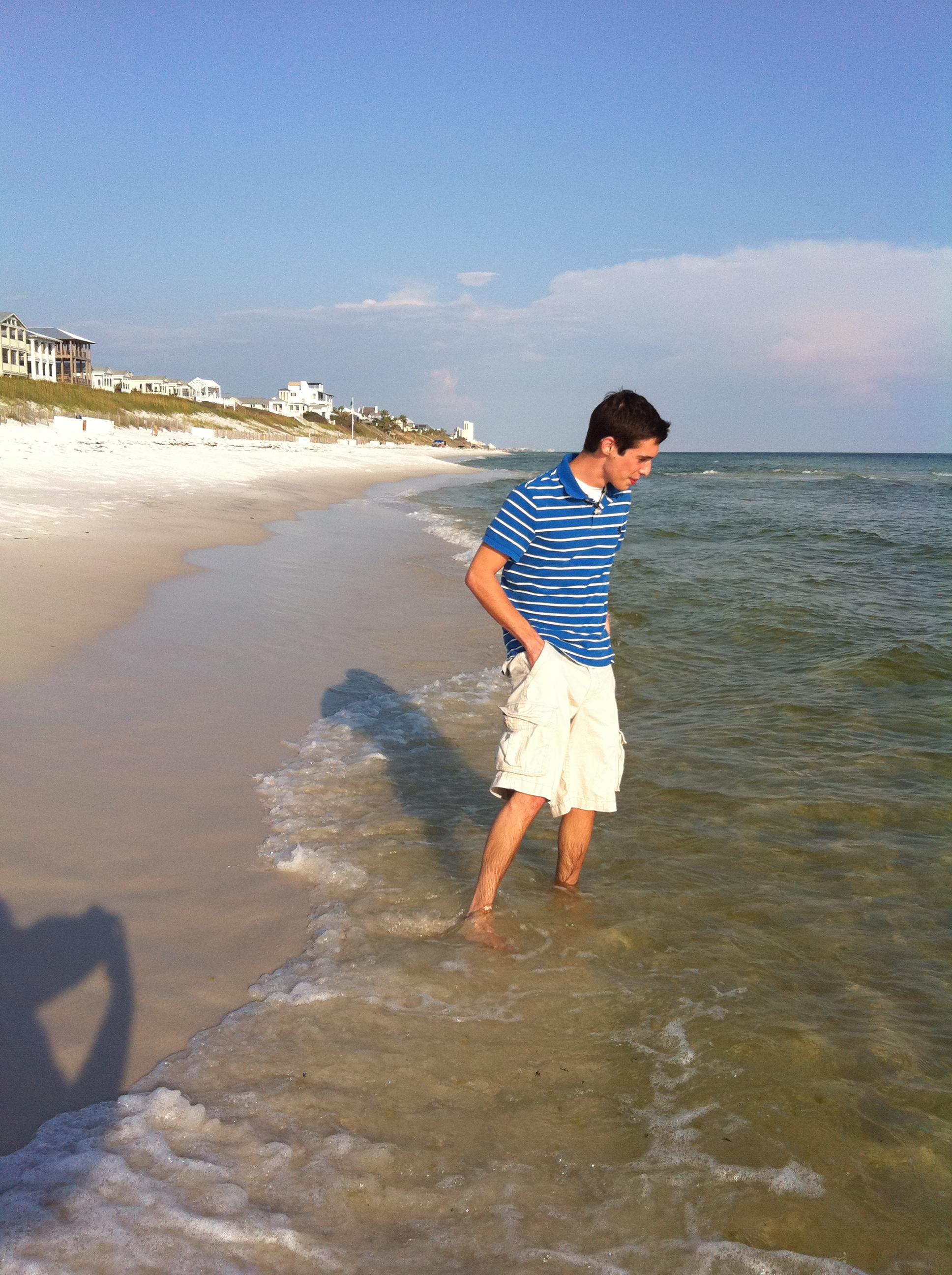 John testing the waters