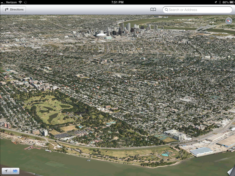 New Orleans in 3D