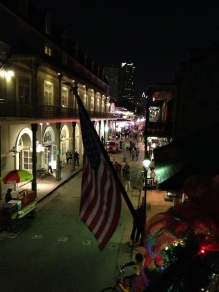 Bourbon Pub view